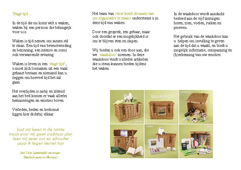 Brochure Waakdoos - binnenkant